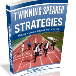 "Marlon's NEW eBook – ""7 Winning Speaker Strategies"""